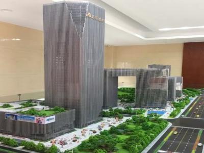 金东多湖中央商务区,第一高楼将在此诞生(内设视频)