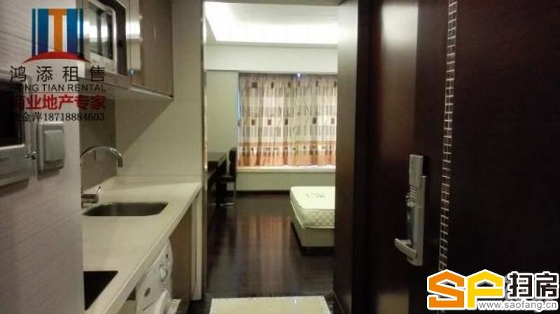 科汇金谷豪华单间公寓 小区配套成熟 拎包入住 看房方便