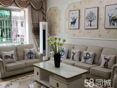金鹏小区二楼豪华装修带全套品牌家具带车库38平单价才4千一平