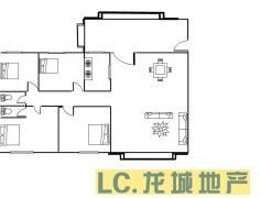 毛坯 第一城 海丰 南北 163m² 4房 105万元 ,不买真亏急