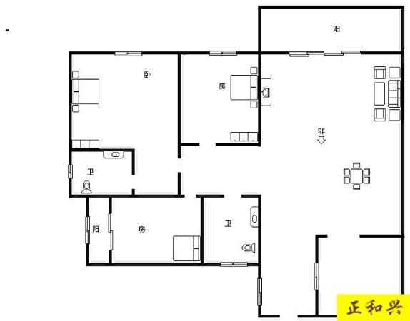 翡翠园二期 3房2厅2卫  电梯中间楼层出售