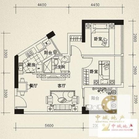 翠山花半里  2房 65m² 精装 好楼层好位置低价位