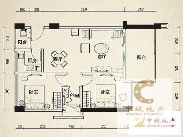 翠山花半里  3房 72m²  你可以拥有,理想的家!