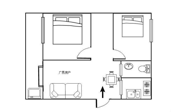 2房 连山鼎府 精装 高新区 南北  100m² ,有匙即看1400/月