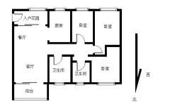 毛坯 119m² 中山 荔园悦享星醒二期 0万元 3房 东北 ,绝对好位置!绝对好房子!