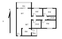 底价出售,西南 3房 中山 毛坯 119m² 荔园悦享星醒二期 2万元 ,买过来绝对值!