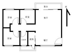石岐区  东盛花园 近大信 115m²简装 3房  正规有匙即睇!