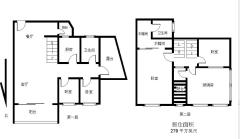 店长重点推荐! 中山 南北 华鸿水云轩二期 183m² 简装 4房 紧售!!