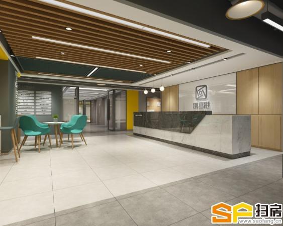 环球广场超甲级小型办公室开业1388元起出租,优惠多多,赠送 免租期
