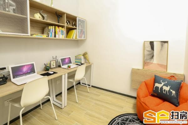 公寓可短租 24h空调 地铁口 新房直租 定制家私