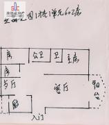 惠东 简装 3房 万元 立晶花园 103m² 南北 ,难得的好户型急售