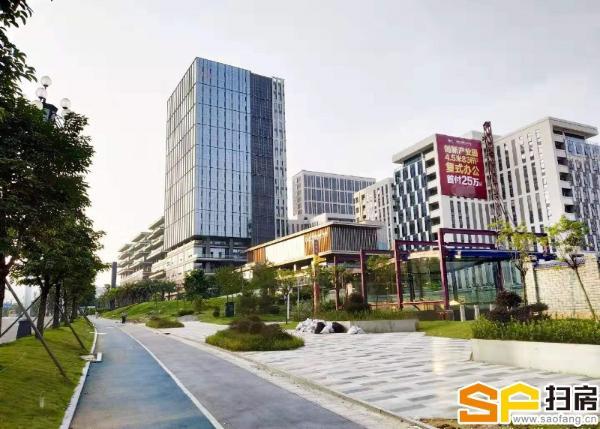 知识城全新一手写字楼 1000方可分单位出售 升级空间可观。