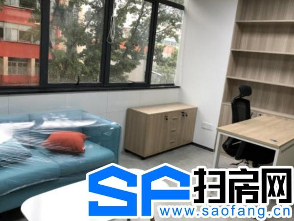 龙岗布吉精装办公室,水电空调全免,共享前台服务