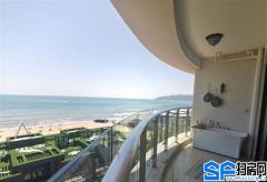 一线无遮挡海景 离沙滩20米 虹海金岸 自带商业圈