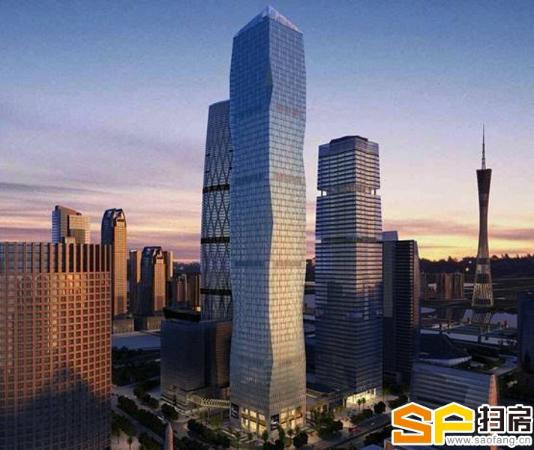 富力盈凯大厦-超甲级-品牌的象征。豪华装修带办公家具免中介费
