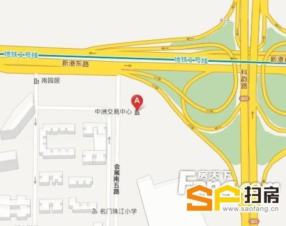 中洲交易中心:400平豪华装修 价钱低,两套单位打通。 超高实用