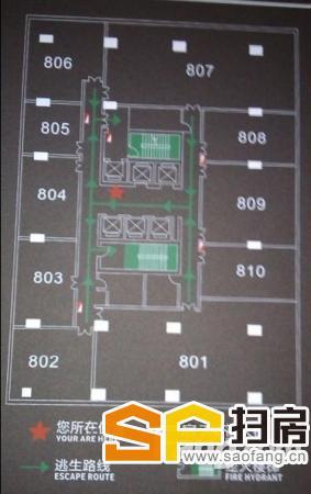 保利中辰广场出租 岗顶地铁上盖 简装 间隔合理 24办公