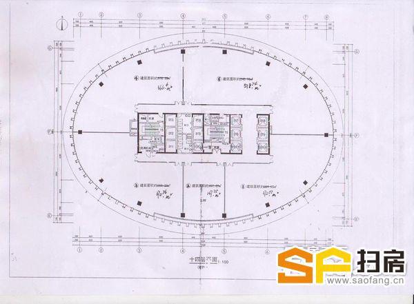 广州远洋大厦出租 210平方 近地铁 超甲级写字楼 仅租160元