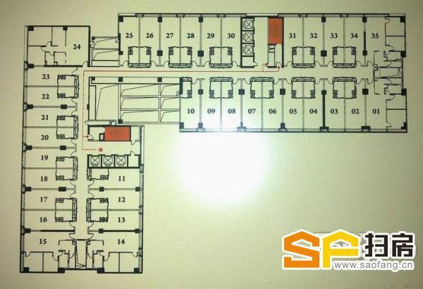 富力盈丰大厦 珠江新城商住楼 近地铁 可注册 CBD中心 复式两层