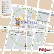 南京金轮国际广场可注册 季付 赠送免租期 正对电梯口 办公家具全