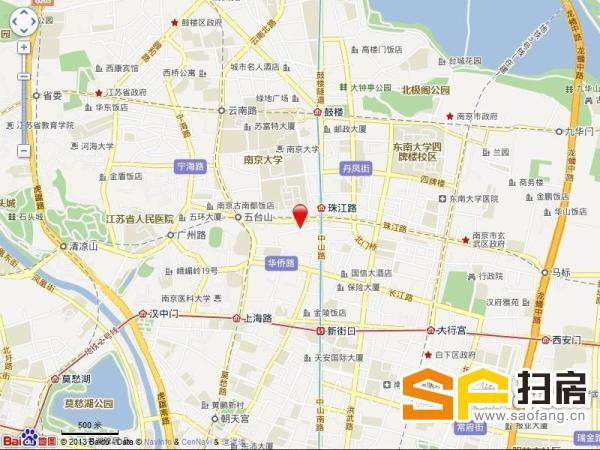 君临国际大厦 珠江路地铁口 精装修 户型方正 采光极佳 随时看房