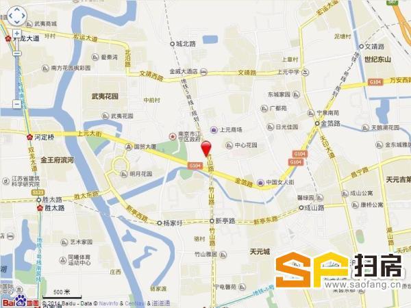 江宁天印公园万达旁320平朝南采光好低价招租