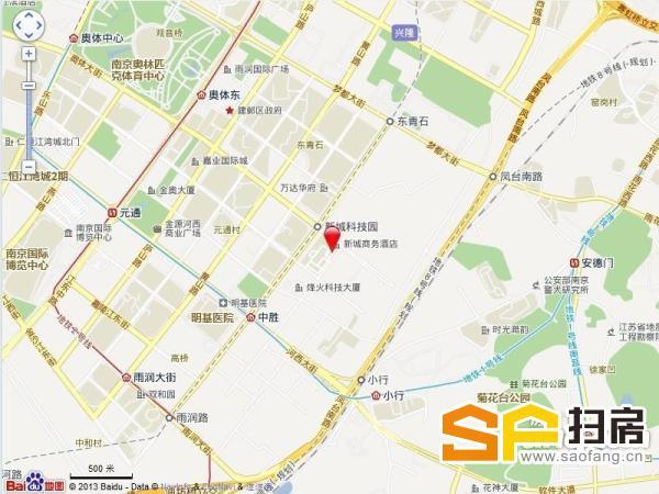 烽火科技招商部 中胜地铁口 知名度高 名企入住 400-5000平可分割