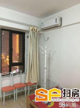 潜山路西环中心广场 1室1厅47平米 精装修 押一付三(图片真实)