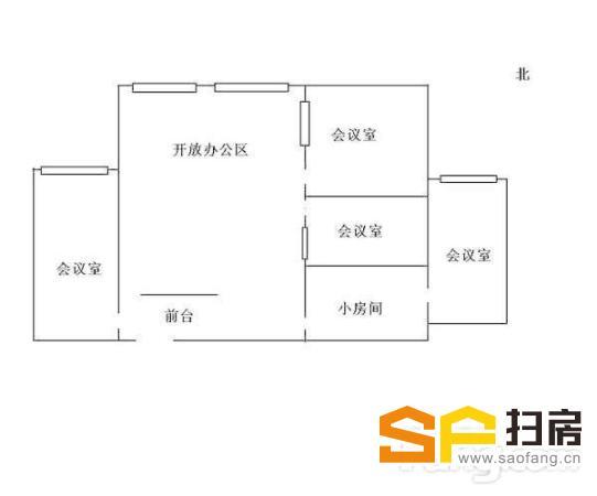 河西CBD 纯写字楼 可注册公司 中泰国际 办公精装修