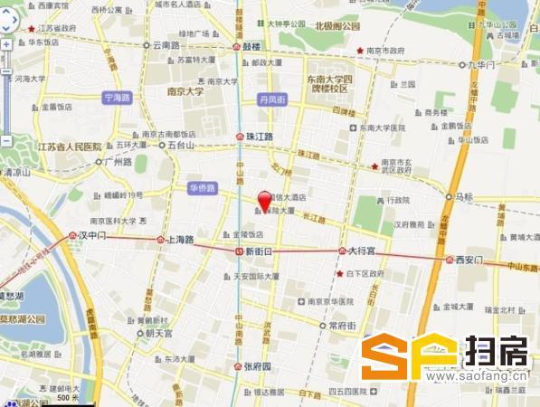 长江贸易大厦 新街口750平精装半层纯写 月底到期 欢迎看房