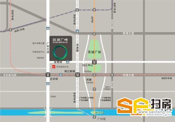 邦华环球广场 带装修间隔即租即用 单位方正实用率超高