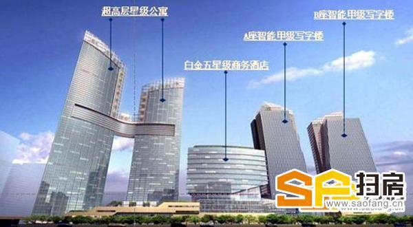 东海国际公寓 高端豪宅出租 五星级酒店管理 新装修,安静-整租