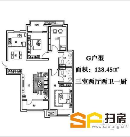 雍雅锦江看房方便 三居 一层 合适办公 入住 可以配东西 欢迎致电-整租