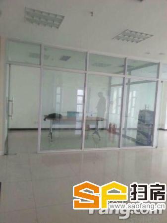 万达写字楼1室490平米中等装修可注册公司房东急租-整租-整租