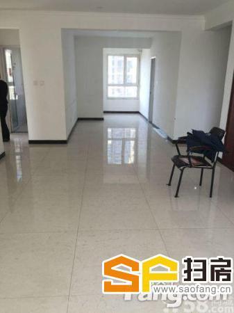 万达A区办公双阳三室128平有柜机空调可配齐-整租