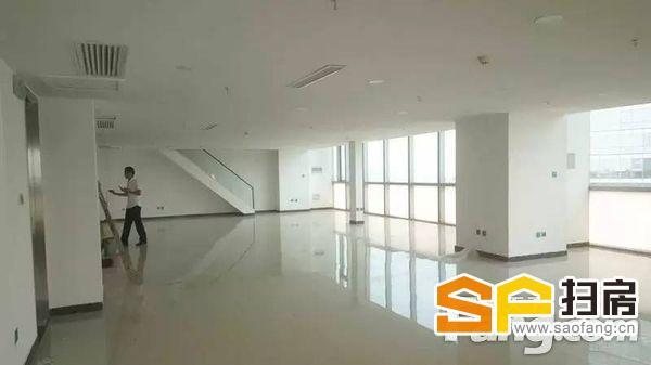 一环核心5A写字楼勒泰中心600平纯阳面大开间