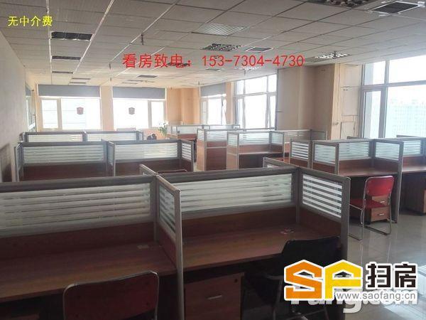 广安街-银泰国际300平大开间带隔断超低价格