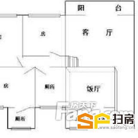 柏涛雅苑 3室1厅 116 精装修 (家私电器齐全,随时可以看房)-整租