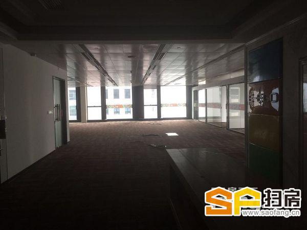 邦华环球广场 户型方正实用 门面大气 5个间隔 办公区大