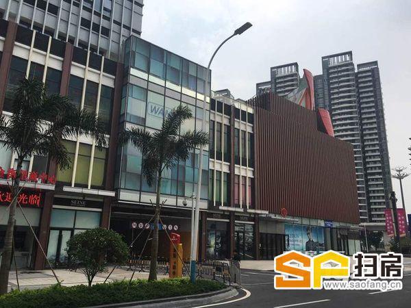 南沙万达广场 金街街铺 已装修好 支持任何行业 现单价低至170方