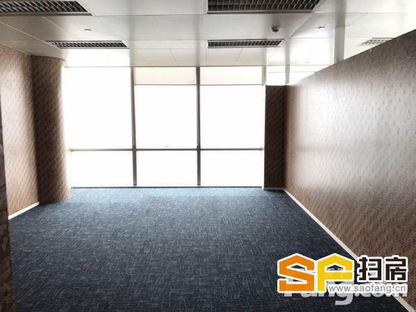 万菱国际写字楼出租 高层无遮挡 豪华装修 正对梯口 前台大气