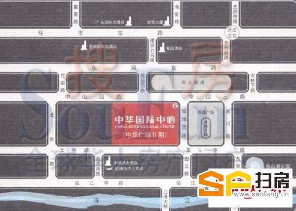 中华广场少有单位放租 地铁上盖 交通便利 价格好