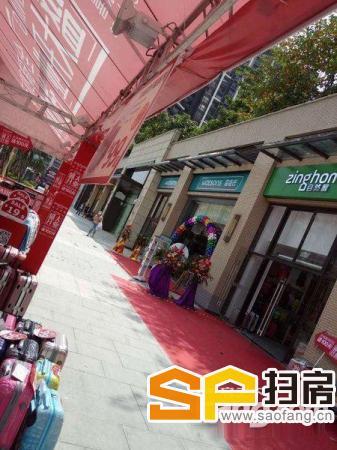 星河盛世商业中心一线街铺买一层送两层可做餐饮美容