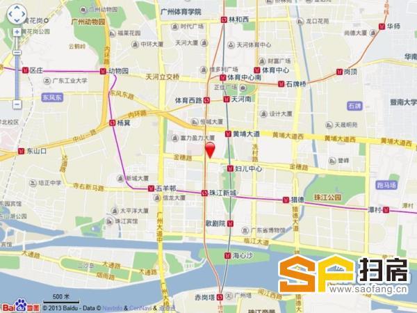 珠江新城 雅居乐中心物业招商 知名楼盘 500强企业进驻很多