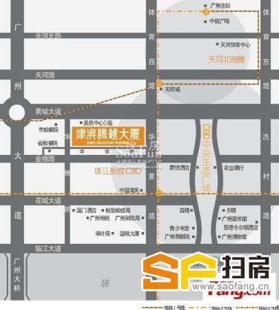 津滨腾越全新装修单元 方正实用 可24使用 拎包入住 扫房网