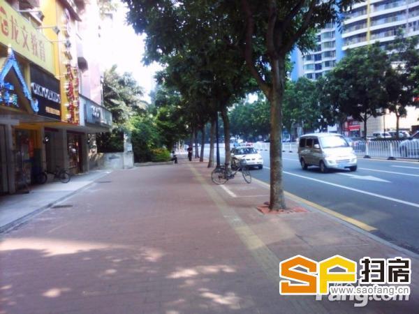 滨江东街铺,一线马路面,大型豪宅小区楼下,40方,少有放盘 扫房网