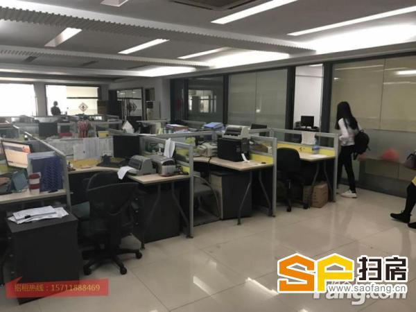 天河软件园350平方带装修办公室出租,有空调