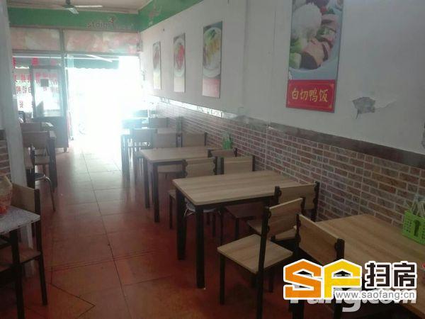 华景新城可餐饮 130方
