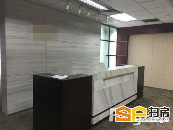 广州写字楼出租 富力盈泰广场 精装500平方 扫房网