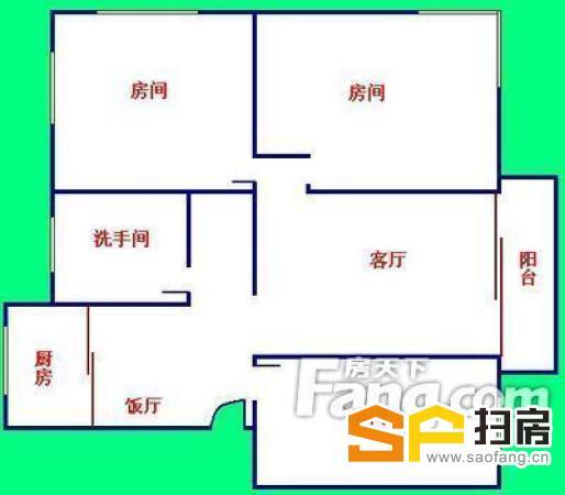 农林下路 三房电梯 家私齐全 住家 旁边-整租